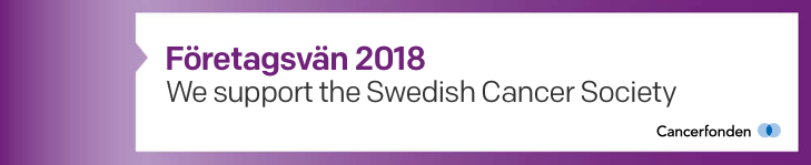 DbVis Software AB is supporting Cancerfonden in Sweden